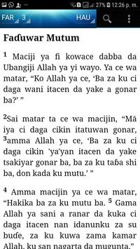 Holy Bible (Hausa) screenshot 2