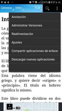 Santa Biblia Traducción en Lenguaje Actual Audio screenshot 3
