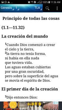 Santa Biblia Traducción en Lenguaje Actual Audio Ekran Görüntüsü 1