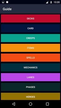Guide for Artifact Card Game Dota screenshot 1
