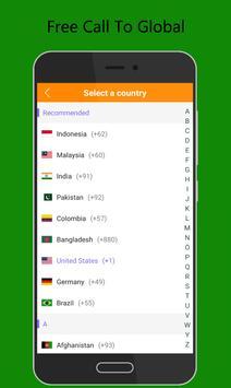 Call Global - Free International Phone Calling App ポスター