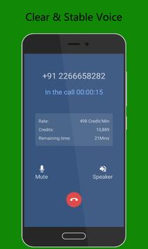 Call Global - Free International Phone Calling App スクリーンショット 1