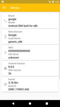 SIM Card Info captura de pantalla 3