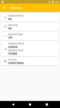 SIM Card Info captura de pantalla 2