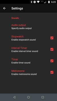 Stopwatch - Interval Timer & HIIT Timer screenshot 6