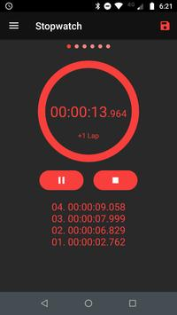 Stopwatch - Interval Timer & HIIT Timer poster