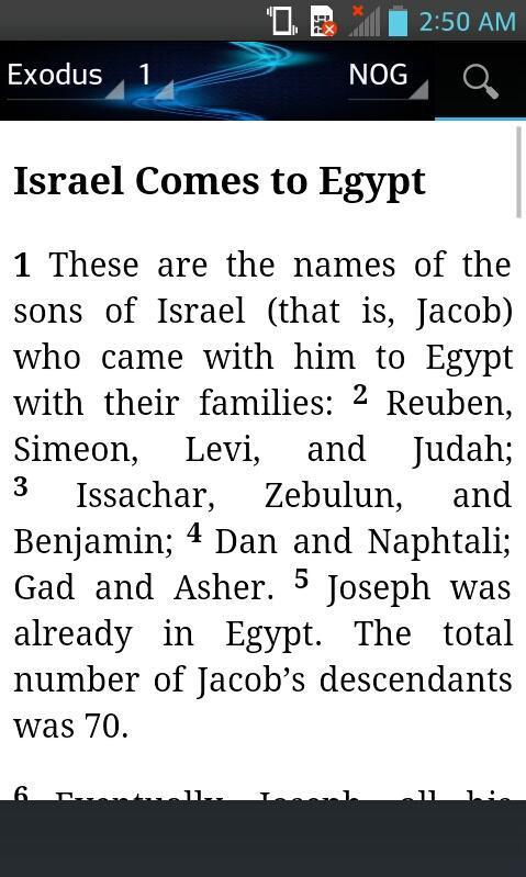 Bible Names of God (NOG) English Free poster
