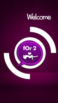 For 2 - Dating Messaging App poster