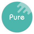 Pure Icon Pack: Minimalist & Colorful & Clean