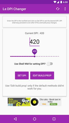 Le DPI Changer for Android - APK Download