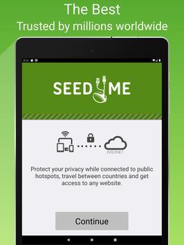 Free VPN Proxy by Seed4.Me screenshot 8