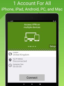 Free VPN Proxy by Seed4.Me screenshot 9
