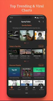Trending Viral Music Chart from Spotify: SpotyTube for Android - APK