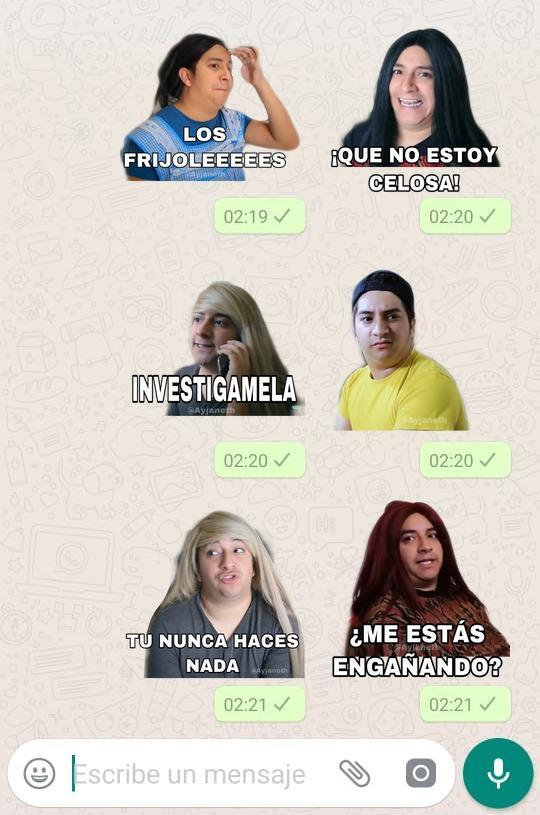 Stickers De Mario Aguilar Para Whatsapp For Android Apk Download Desde whatsapp es posible descargar packs de stickers que ya están integrados a la plataforma y no requiere que se baje una app de terceros. stickers de mario aguilar para whatsapp