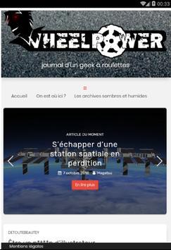 WheelPower screenshot 2