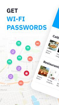 WiFi passwords and Free WiFi from Wiman постер
