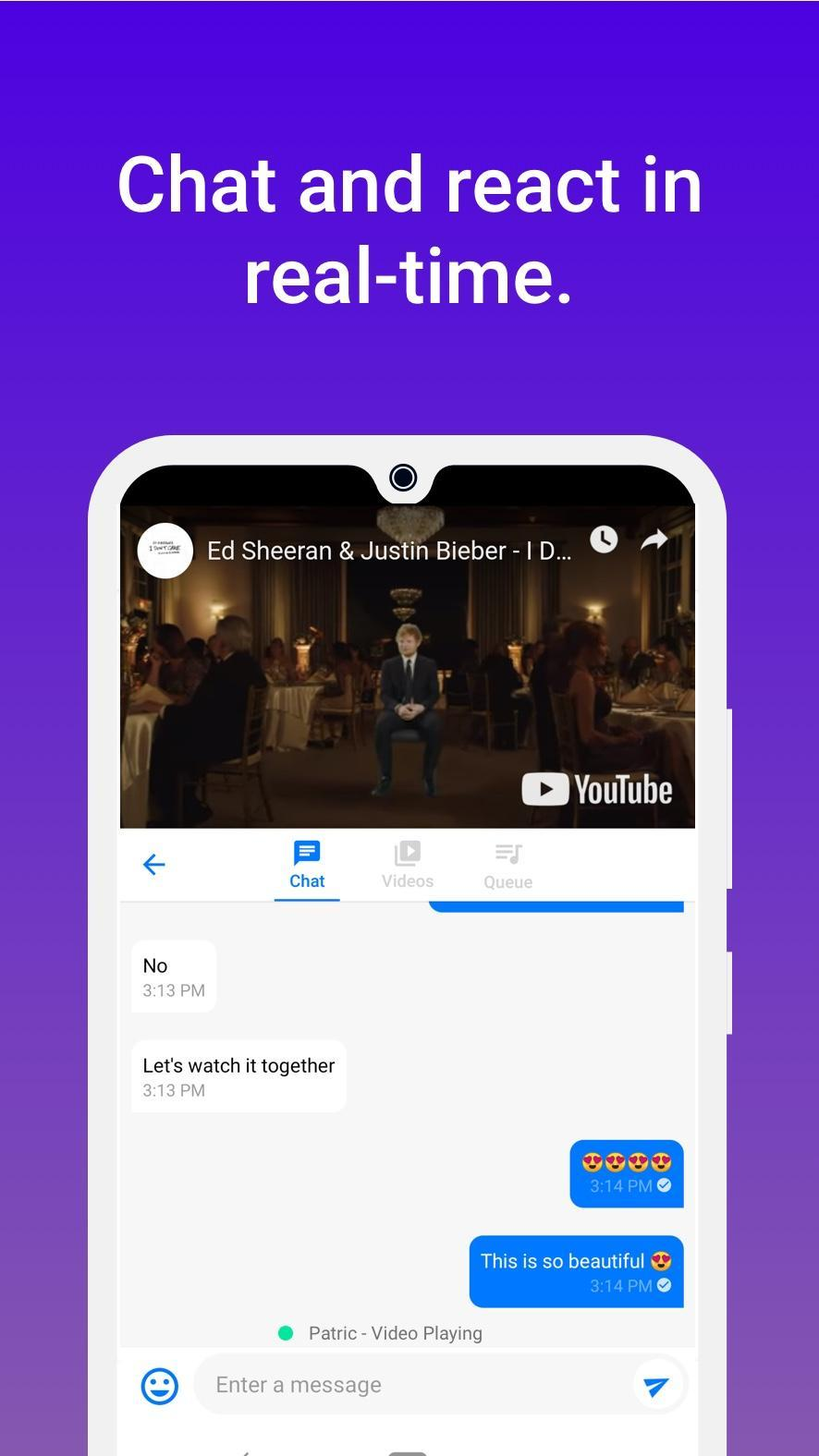 Togetherly: Watch Youtube videos together for Android - APK