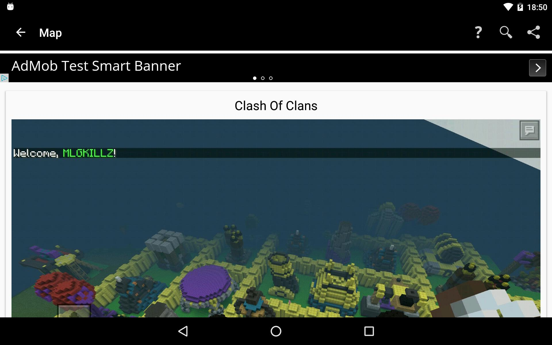 Cari aplikasi baru Maps for Minecraft PE
