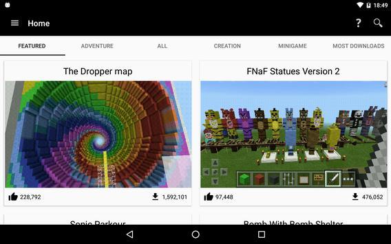 Maps for Minecraft PE скриншот 7