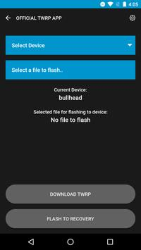 Official TWRP App screenshot 1