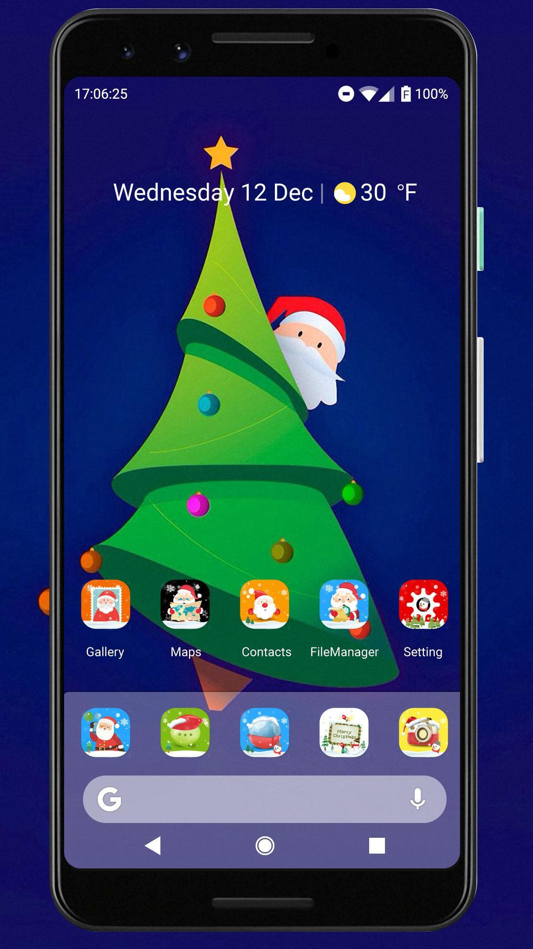 Merry Christmas & Happy New Year 2020 Icon Pack for Android - APK Download