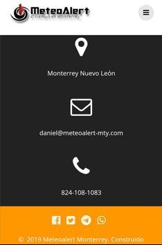 Meteoalert Monterrey screenshot 2