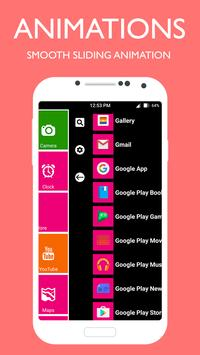 Metro Style Launcher 8 Theme - 2019 screenshot 7