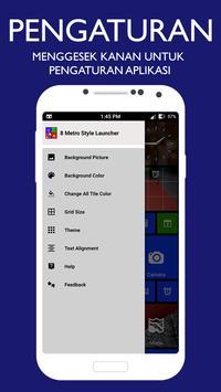 Tema peluncur gaya Metro 8 - 2019 screenshot 6
