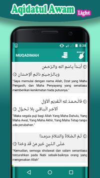 Aqidatul Awam App Light screenshot 2