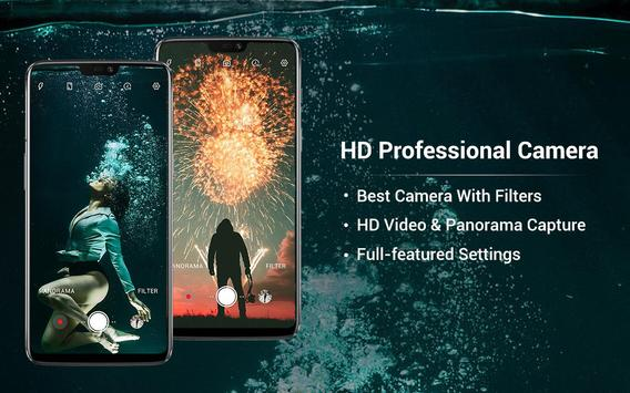 HD Camera - Video, Panorama, Filters, Beauty Cam screenshot 13