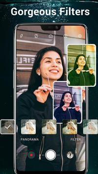 HD Camera - Video, Panorama, Filters, Beauty Cam screenshot 4