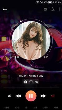 مشغل الموسيقى تصوير الشاشة 2