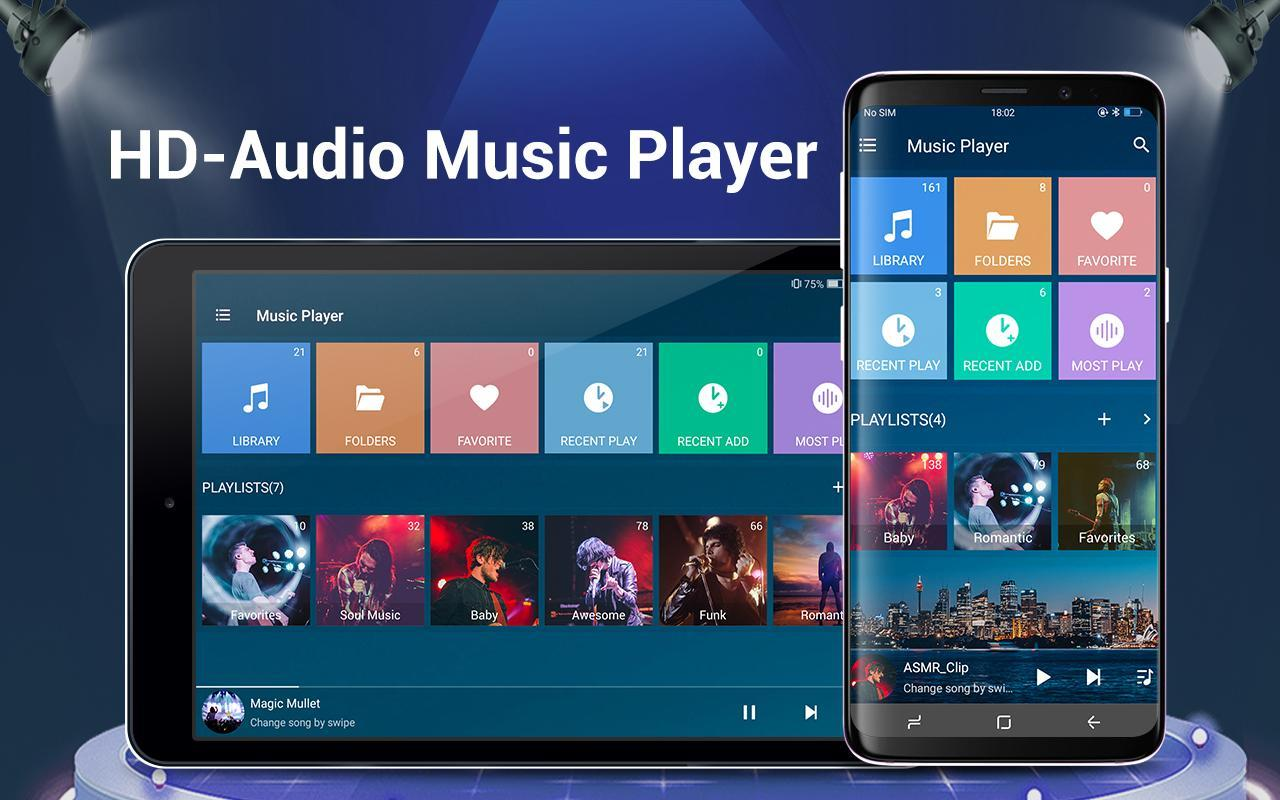12 Best music players for Android in