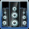 Altavoz amplificador icono