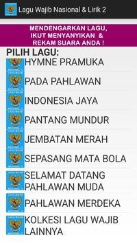 Lagu Wajib Nasional & Lirik 2 screenshot 9