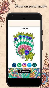 Latest Mehandi Designs - Colour Mehandi  Book 2019 screenshot 3