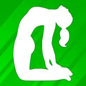 Yeni başlayanlar için yoga hareketleri-Hatha poses simgesi