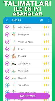 Yeni başlayanlar için yoga hareketleri-Hatha poses Ekran Görüntüsü 2