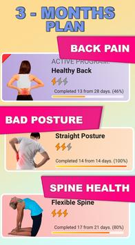 Healthy Spine & Straight Posture - Back exercises screenshot 1