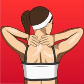 Здоровая шея иконка