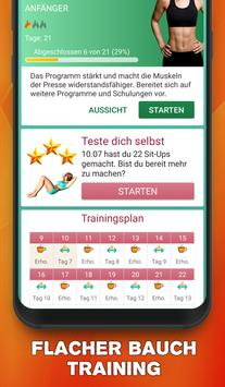 Bauchmuskeltraining - Sixpack in 30 tagen zuhause Plakat