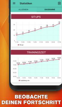 Bauchmuskeltraining - Sixpack in 30 tagen zuhause Screenshot 4