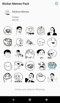 Stickers memes - WAStickerApps poster