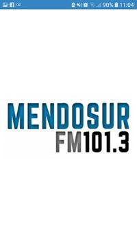 Mendosur fm 101.3 poster