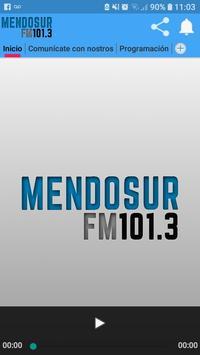 Mendosur fm 101.3 screenshot 1