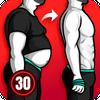Худеем за 30 Дней для Мужчин - Тренировки для Дома иконка