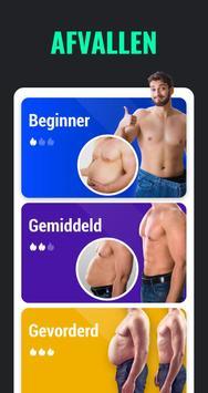 Afvallen in 30 Dagen Mannen - Fitness Oefeningen-poster