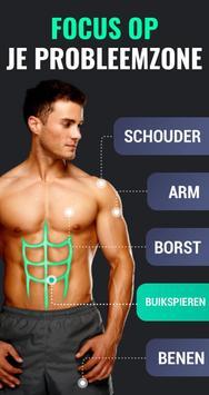 Afvallen in 30 Dagen Mannen - Fitness Oefeningen screenshot 4