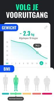 Afvallen in 30 Dagen Mannen - Fitness Oefeningen screenshot 5