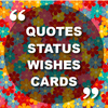 Good morning quotes, birthday cards and wishes simgesi